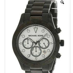 Michael Kors Layton Black Stainless Steel Watch